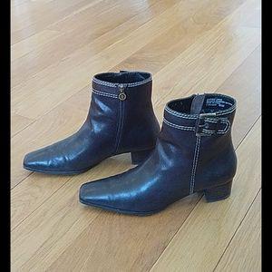 Bootties,aigner, brown